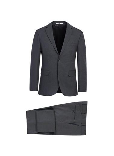 Kiğılı Slim Fit Takım Elbise Antrasit